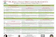 """VII. """"Közel, s Távol"""" Orientalisztika Konferencia"""