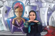 Shamsia Hassani - Egy afganisztáni muszlima törekvése: Fátyol és büszkeség az utcai művészetben